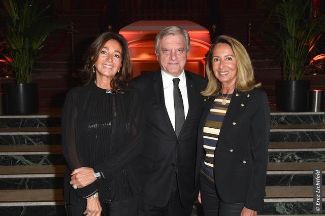 De gauche à droite : Kathia Toledano, Sidney Toledano, Nicole Coullier © Erez Lichtfeld