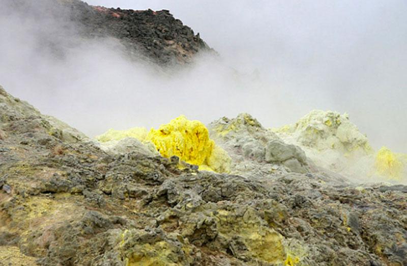 Certaines bactéries adorent l'odeur de souffre des gaz chauds